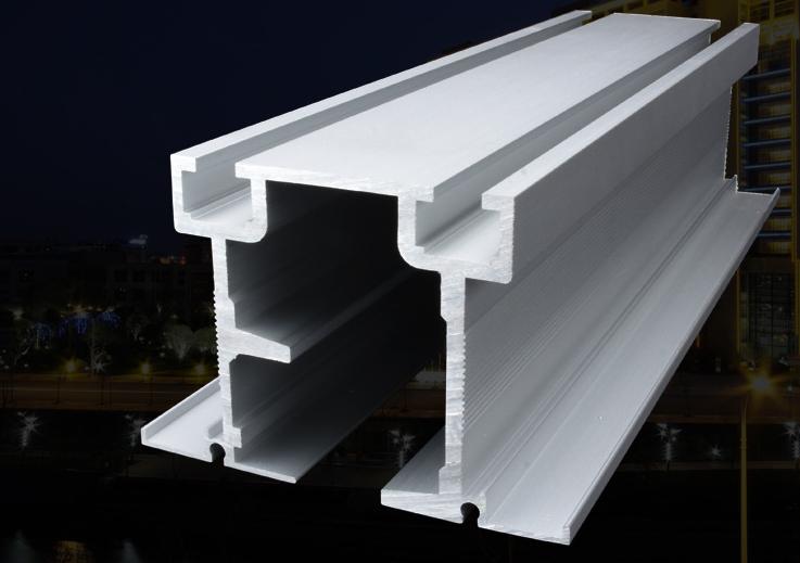 酒店 会议中心折叠门重型吊轨铝型材厂家定制