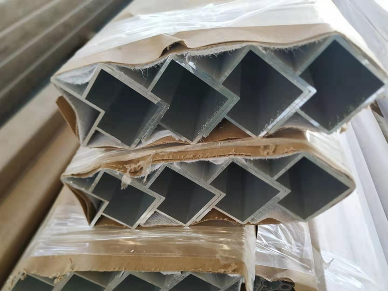 空调柜架铝型材厂家开模定制58*58壁厚2mm铝合金型材