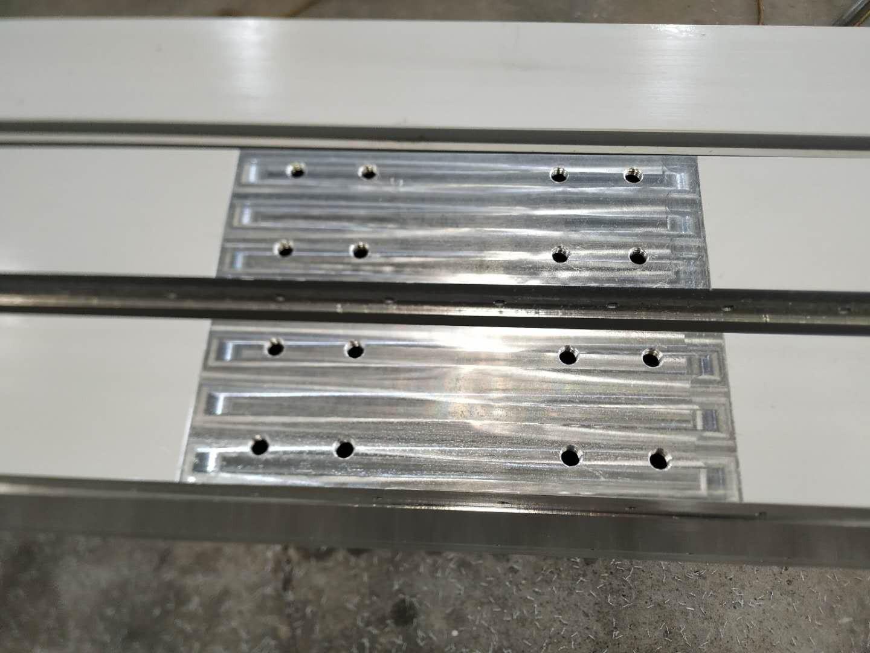 打印机铝型材打孔铣切加工