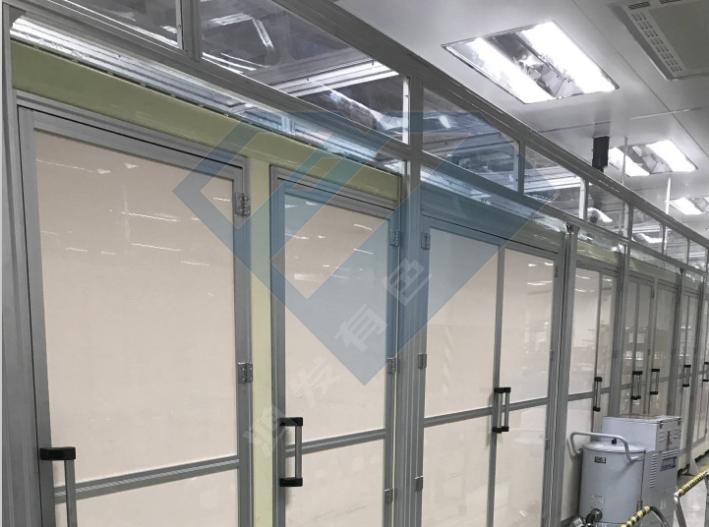 铝型材无尘室洁净棚厂家定制