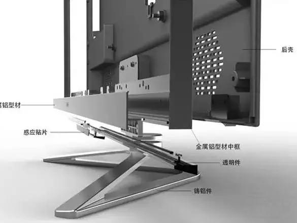 厂家直销电视机铝型材配件