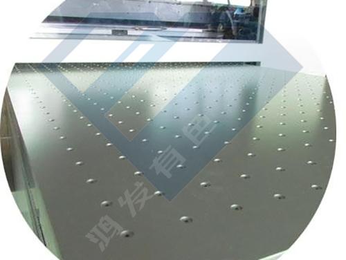 南京鸿发有色厂家定制打印机真空吸附版 蜂窝板铝板打孔