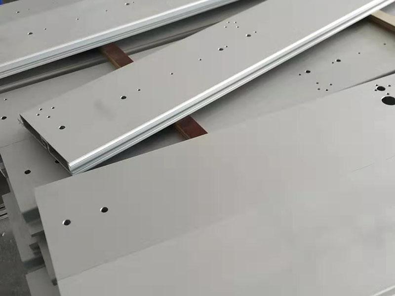 南京铝型材厂家CNC加工工程车辆led显示屏铝合金底座面板