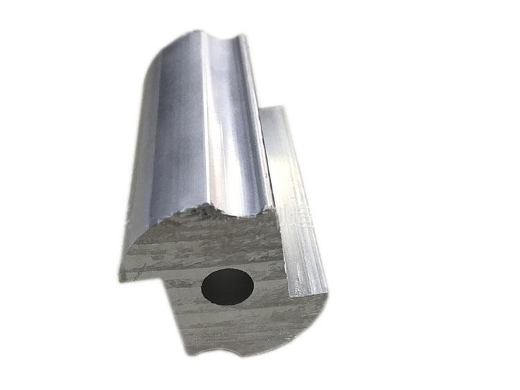 铝合金厚壁异型材中孔配件加工定制