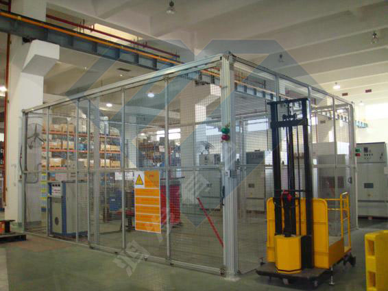 铝合金工业防护围栏厂家定制施工